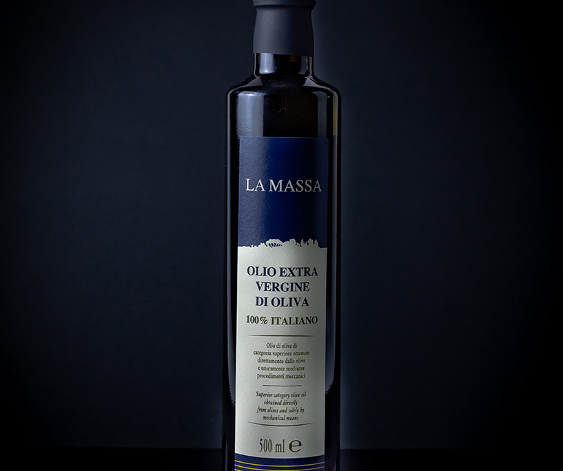 Olio extravergine di oliva della Tenuta la Massa